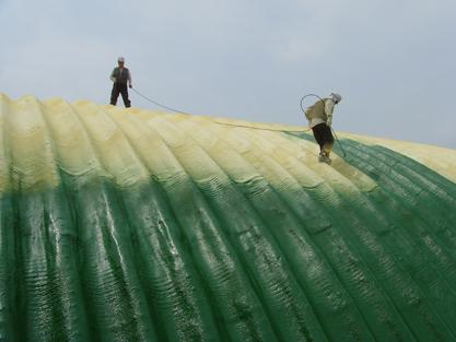 선경하우징 아치스판지붕보수