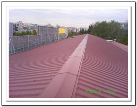 선경하우징 판넬지붕방수 체육관아치스판넬보수